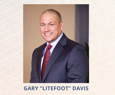 "Business is Booming Gary ""Litefoot"" Davis"