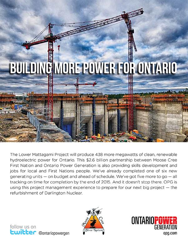 Partnering to Power Ontario