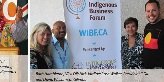 The World Indigenous Business Forum