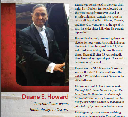 """""""The Revenant Star"""" Duane E. Howard: 'I wanted to be somebody.'"""