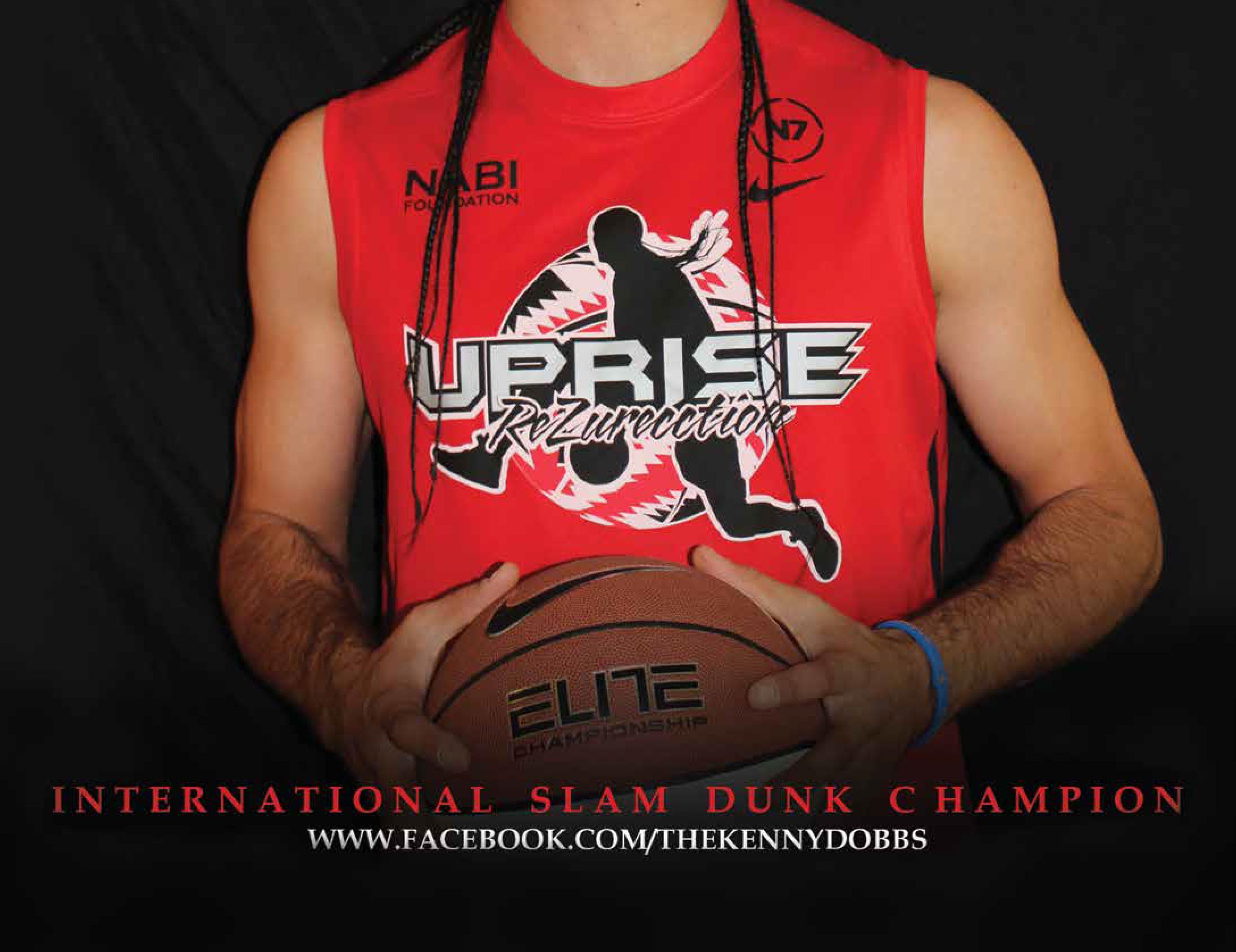 Kenny Dobbs, International Slam Dunk Champion - SAY Magazine