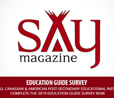 2019 EDUCATION  GUIDE FOR INDIGENOUS PEOPLE SURVEY