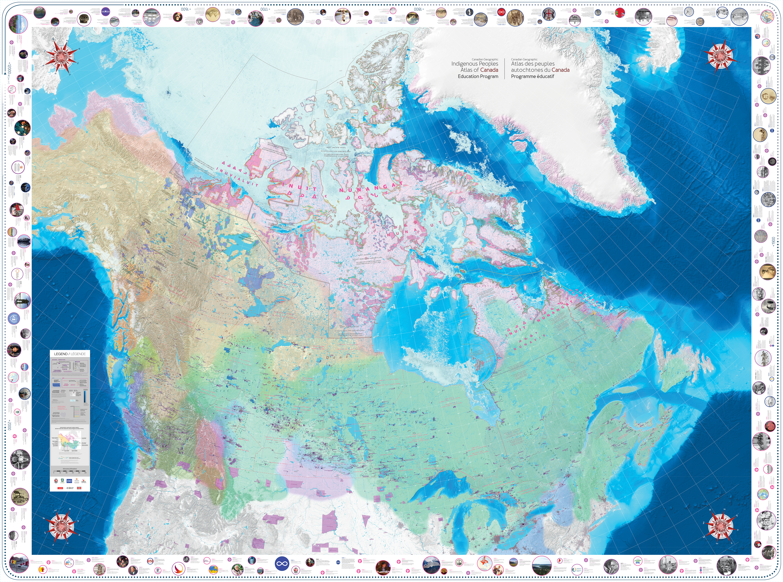 Giant Floor Map Offers New Understanding of Indigenous History